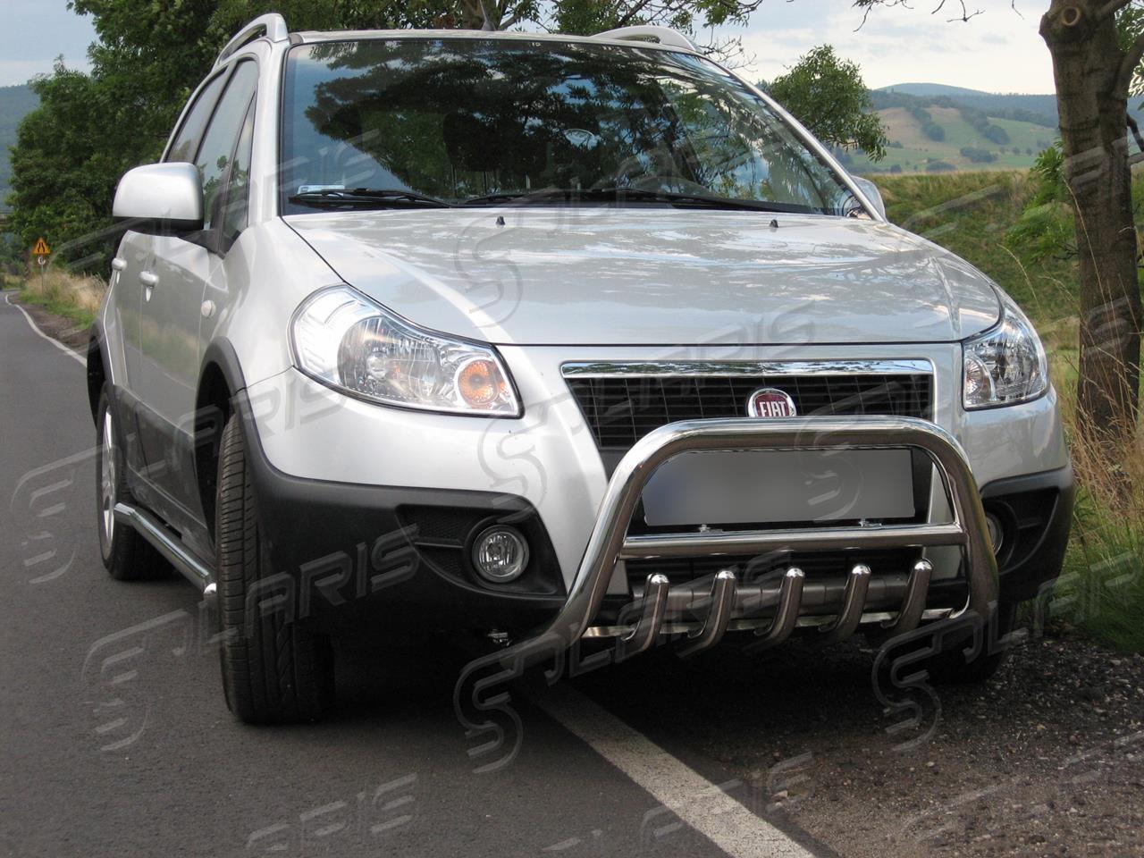 Pour Fiat Sedici 06-14 SX4 06-13 Nouveau Pare-chocs avant Support à Gauche N//S